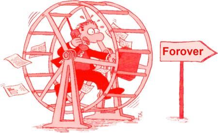 Hamsterhjulet - forover