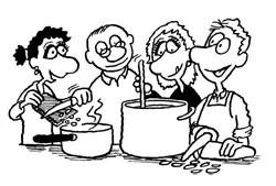 matlagning i fellesskap