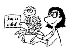 ta med blomster