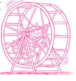 Hamsterhjulet
