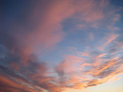 spennende øyeblikk på himmelen