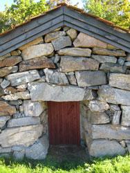 sjarmerende steinhus